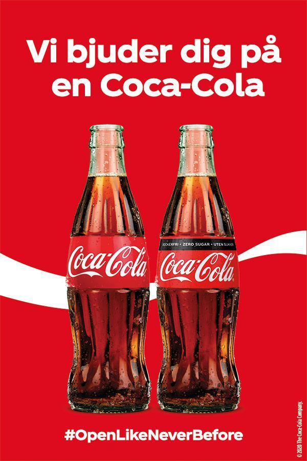 coca cola company sverige